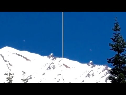 Mysterious UFOs with Bright Lights above Mount Shasta (California) - FindingUFO