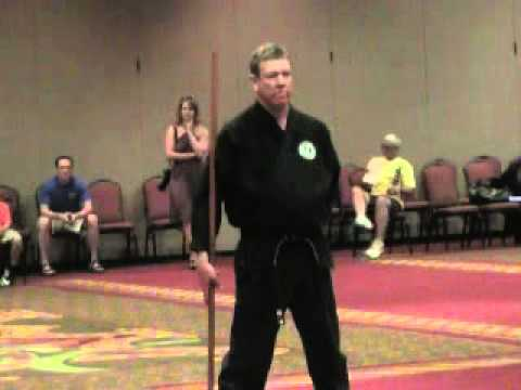 High Dan test at the U.S.Karate Championships 2011  Part 1 introduction  of Grandmasters