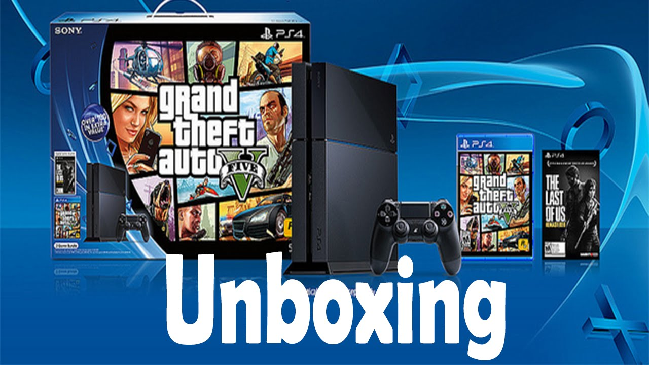 Ps4 Grand Theft Auto V And The Last Of Us 500gb Console