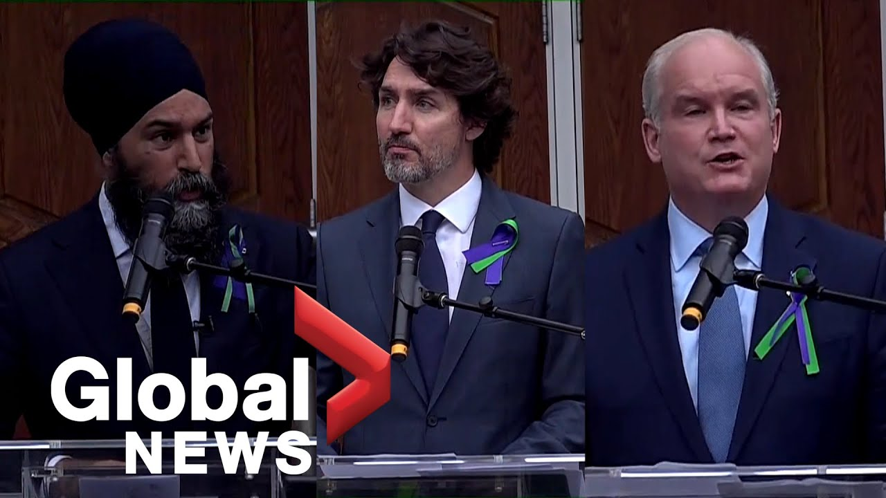 Canadian political leaders vow to combat Islamophobia in vigil held for Muslim family killed