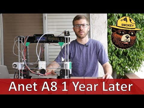 Anet A8 3D Printer One Year Later | Is This Printer Still Cool Or Fire?