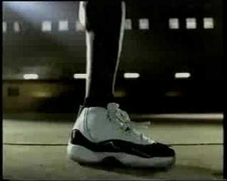Air Jordan XI commercial