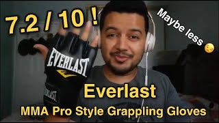 Everlast MMA Pro Style Grappling Gloves REVIEW