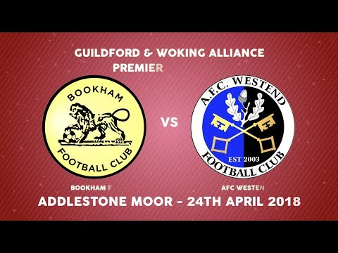 Guildford & Woking Alliance Premier Cup Final: Bookham FC vs AFC Westend