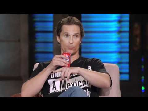 Lopez Tonight: Matthew McConaughey Loves Latinas