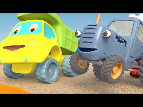 Мультики про машинки - Трактор Гоша - Все серии подряд | Развивающие мультфильмы для детей