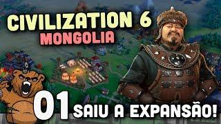 Video A expansão chegou! - Civilization 6 Mongólia #01 - Rise and Fall Português PT-BR download MP3, 3GP, MP4, WEBM, AVI, FLV Maret 2018