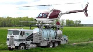 Spraying with a Helicopter - The1jdfan