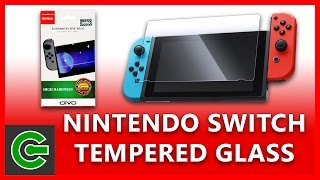 How to apply tempered glass screen protector to Nintendo Switch (Otvo Tempered Glass)