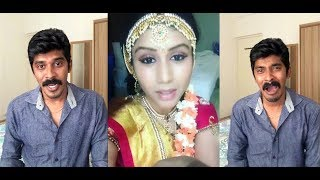 Arun Sanjana / Thenali Movie Scenes Dubsmash & tamil girls & Boys Dubsmash