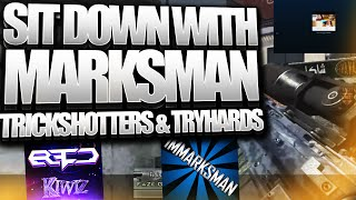 FAKING CLIPS, FAST LAST, TRICKSHOTTING & TRYHARDS - ft. ImMarksman