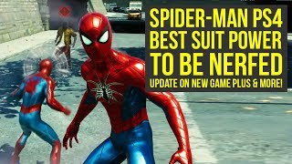 Video Spider Man PS4 New Game Plus UPDATE FROM DEV, Suit Power Nerfed & More (Spiderman PS4 New Game Plus) download MP3, 3GP, MP4, WEBM, AVI, FLV September 2018