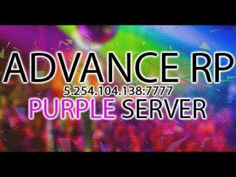 Пенсионер играет в САМП. Advance RP Purple Server. серия #14