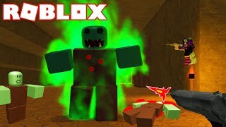 ROBLOX SURVIVING THE ZOMBIE ATTACK !