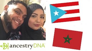 Ancestry DNA/Ged Match Couples Results - Puerto Rican & Moroccan, 2016.