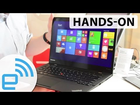 Lenovo ThinkPad X1 carbon edition hands-on at CES 2014 | Engadget