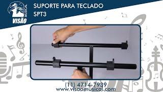 Suporte par Teclado Visão Musical SPT3