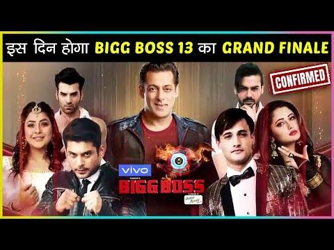 OMG! Bigg Boss Season 13 GRAND FINALE Date REVEALED | Salman Khan