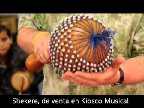 Shekere, Chequeré o Calabash de Venta en Kiosco Musical