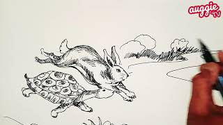 Hare and Tortoise | Bedtime Stories | Aesop Fables | Moral Stories | in English