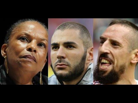 Taubira, Benzema, Tibery refusent de chanter la Marseillaise...