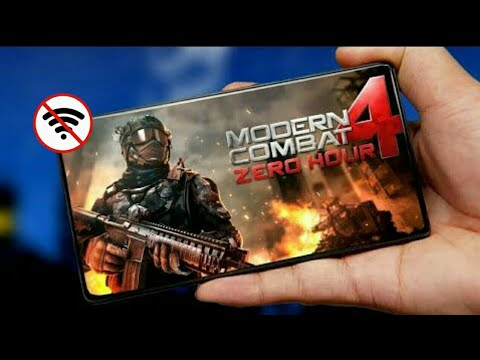 Modern Combat 4 Zero Hour Mod Apk + Data Offline On Any Android Devices