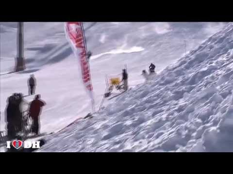 Gee Athertons Snow Crash in Tignes