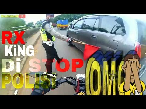 RX king di stop polisi di tilang atau tidak?