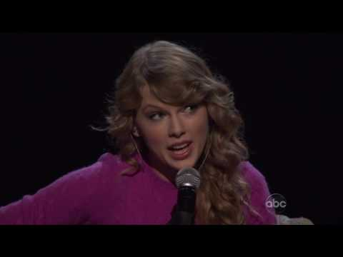 Taylor Swift   Ours CMA Awards 11 11 2009