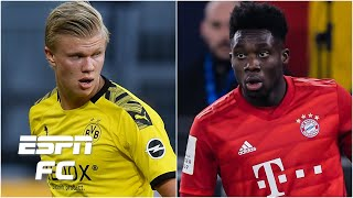 Which player would you rather have: Erling Haaland or Alphonso Davies? | Extra Time