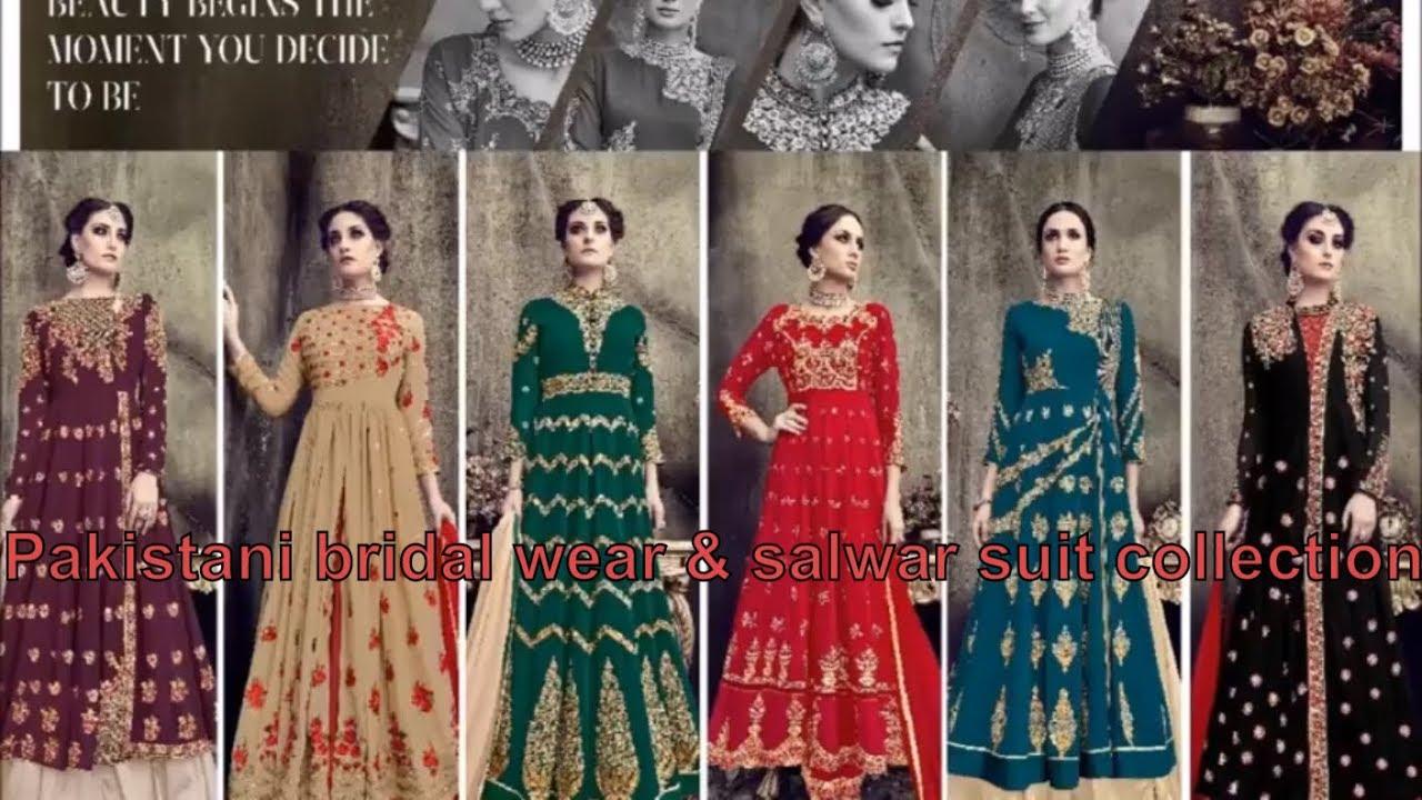 9f70b5c5bd Pakistani bridal wear   salwar suit collection 2018-19 from SHAURYASTORE