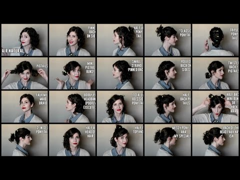 20 Ways to Style Short Curly Hair