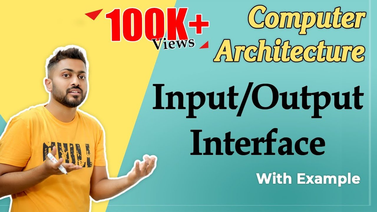 I/O Interface in Computer Organization