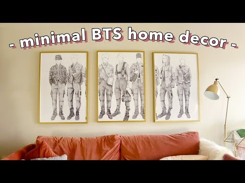 DIY Minimal BTS Room Decor Ideas! | Nava Rose