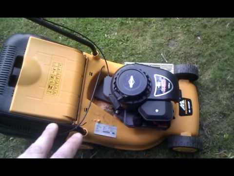 McCulloch-M40-450CDP-Petrol-Self-Propelled-Lawn-Mower