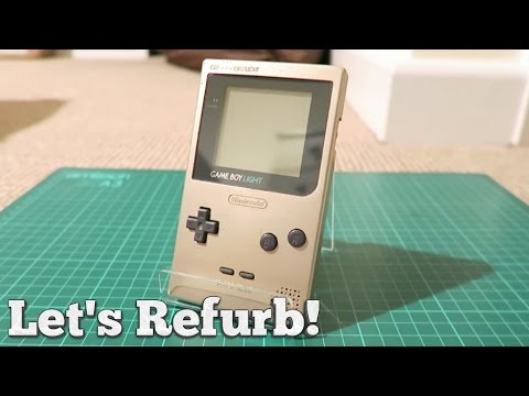 Let's Refurb! - How to Restore a Gameboy Light