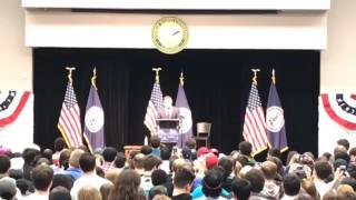 Tom Perriello-Bernie Sanders Rally at GMU (4/6/17)