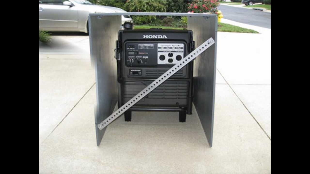Portable Generator Weather Enclosure Youtube