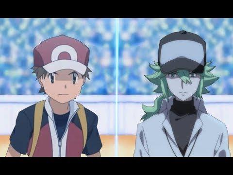 Pokemon Battle USUM Red Vs N (Pokémon Kanto Vs Unova)