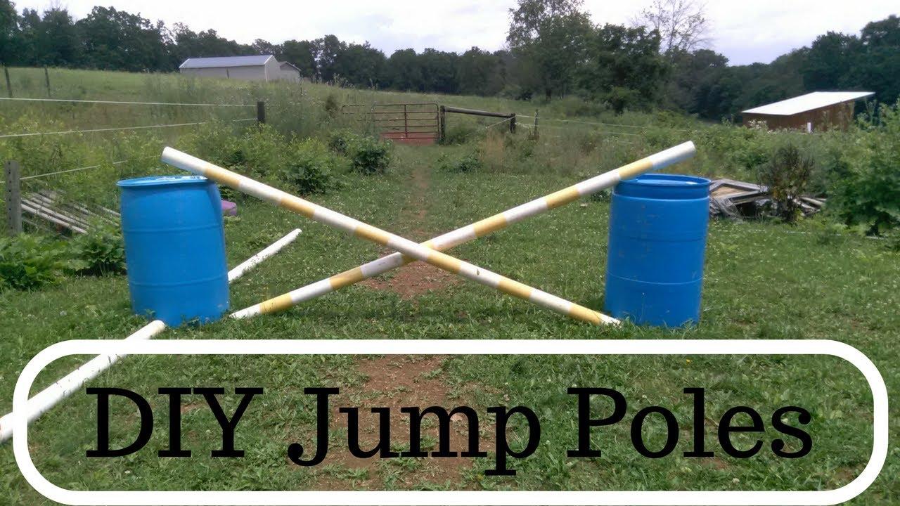 Make Your Own Jump Poles Diy Jump Poles