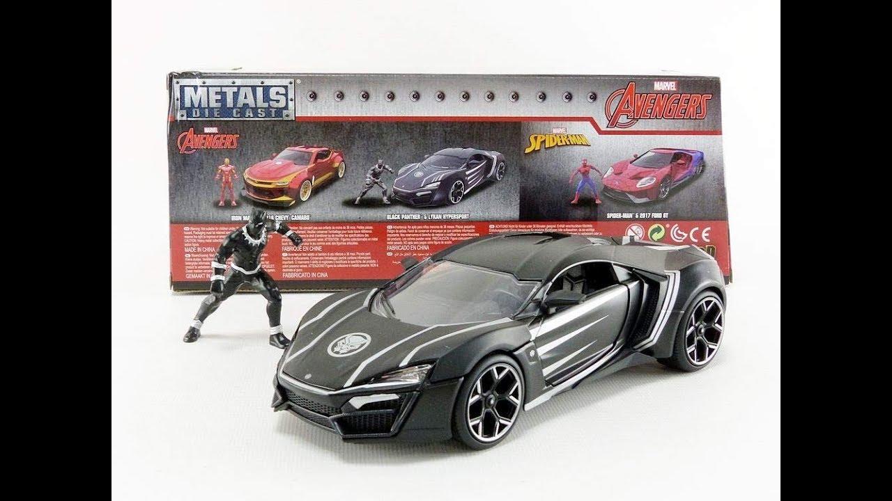Jada Toys Black Panther Lykan Hypersport 1:24