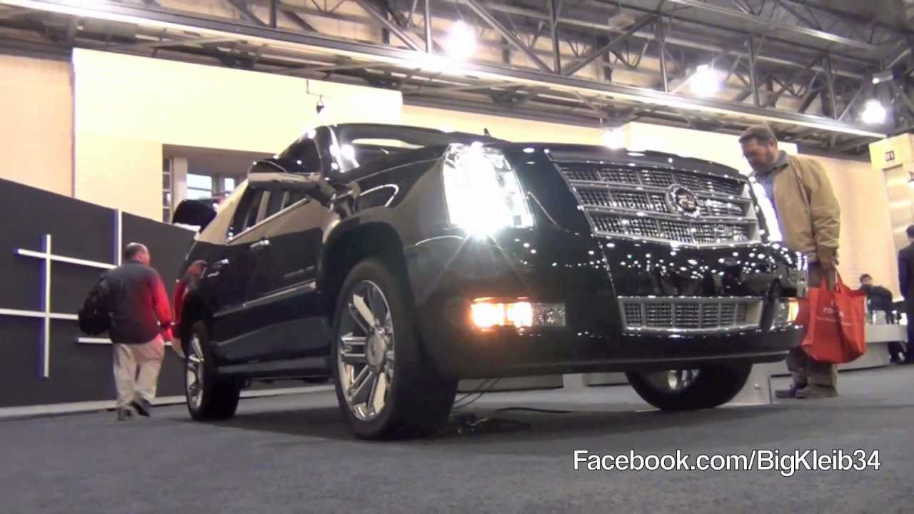 2012 Cadillac Escalade Esv Platinum Tour Youtube