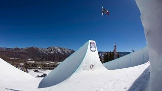 Red Bull: Snowboard Contest on Massive Twin Superpipes - Red Bull Double Pipe