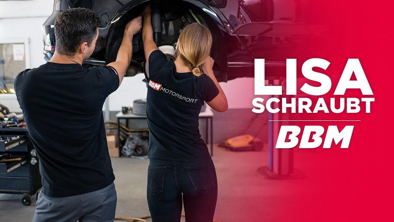 Lisa machts selbst | Audi A3 Tieferlegung Part 1 by BBM - YouTube