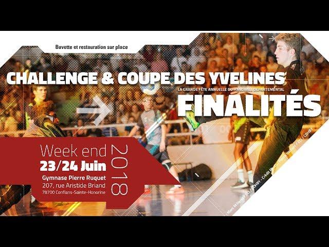Coupe et Challenge des Yvelines 2018 - CDHBY - Teaser