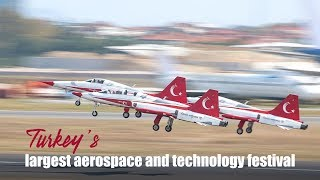 Live: Turkey's largest aerospace and technology festival 第二届土耳其航空航天科技展在伊斯坦布尔举行