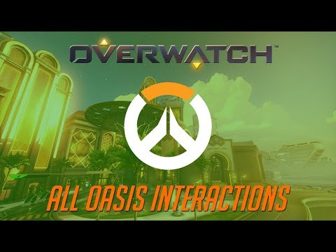 Overwatch - All Oasis Interactions