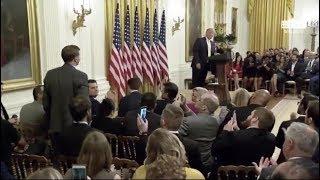 Donald Trump Thanks James O'Keefe at White House Social Media Summit