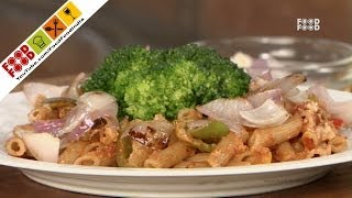 Whole Wheat Pasta With Roasted Vegetable | Food Food India - Fat To Fit | Healthy Recipes