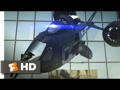 Android Cop - Grand Entrance, Dramatic End Scene (10/10) | Movieclips